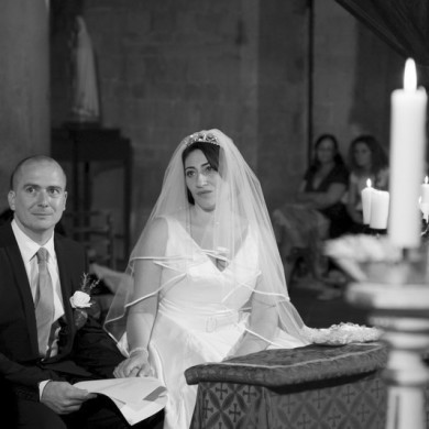 Celebration of the Senses for Tuscan Wedding Couple