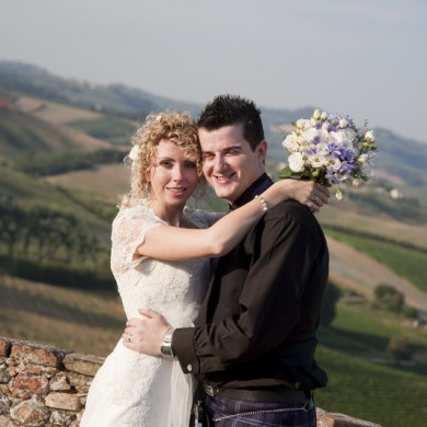 A game of Tag leads to wedding in Tuscany!