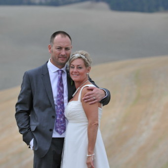 Karen and Darran from Formby UK, Villa Gambassi, September 2012