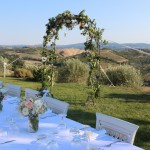 Villa Anna tie the knot in tuscany