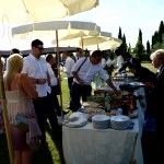 villa la cascina tuscan food and wine
