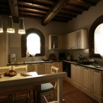 villa sara kitchen tuscany wedding