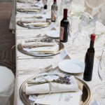 florence wedding Rustic dream in a napkin