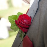 wedding ceremony in tuscany Red rose and Italy, a fiery passionate connection