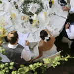 wedding ceremony in tuscany aromatic herbs