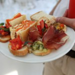 wedding ceremony in tuscany food and wedding