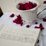 wedding reception in tuscany Red rose and Italy, a fiery passionate connection
