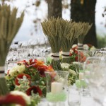 wedding reception in tuscany Wheat Prosperity in a grain