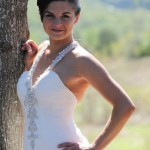 white wedding tie the knot in tuscany