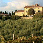 Casa Pienza blessing in Tuscany