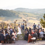 Casa Pienza ceremony in Tuscany