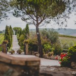 Casa Pienza real life wedding tuscany
